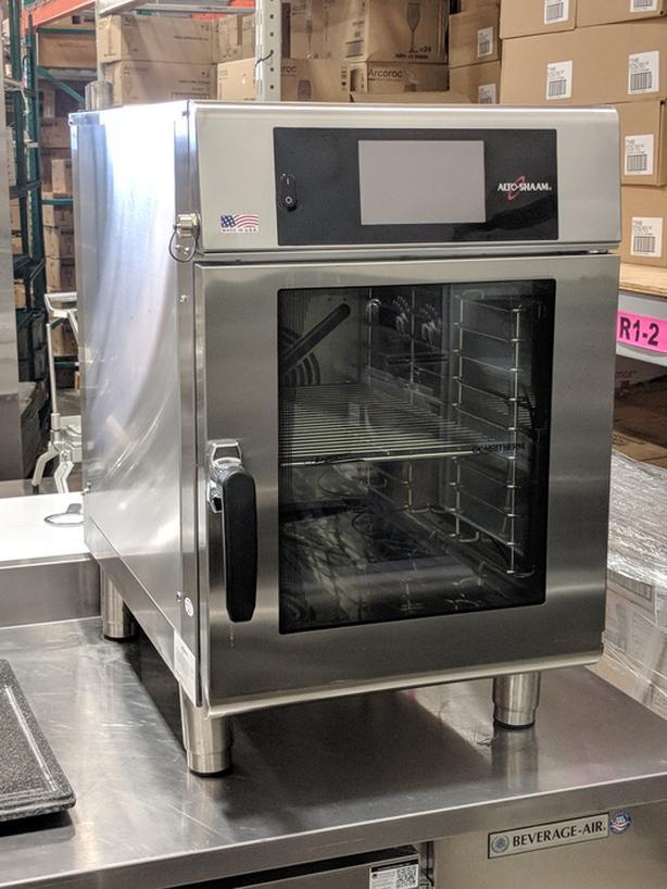 Alto-Shaam CTX4-10E Express 10 Pan Half Size Electric Combi Oven