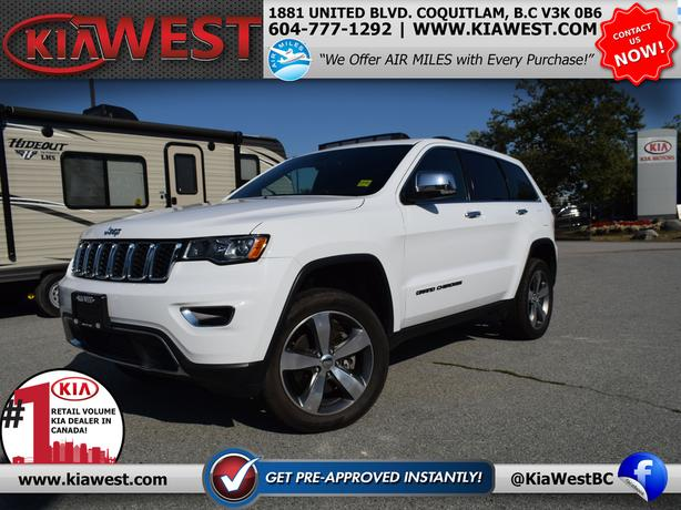2017 Jeep Grand Cherokee Limited 5.7L V8 4X4
