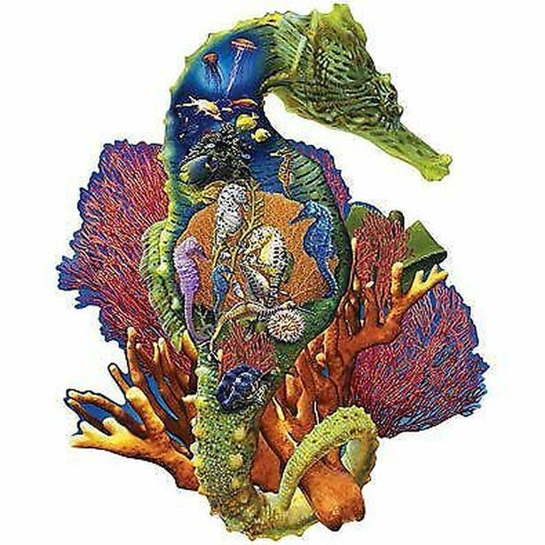 puzzle seahorse