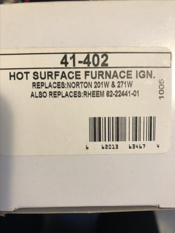 Hot surface furnace ignitors