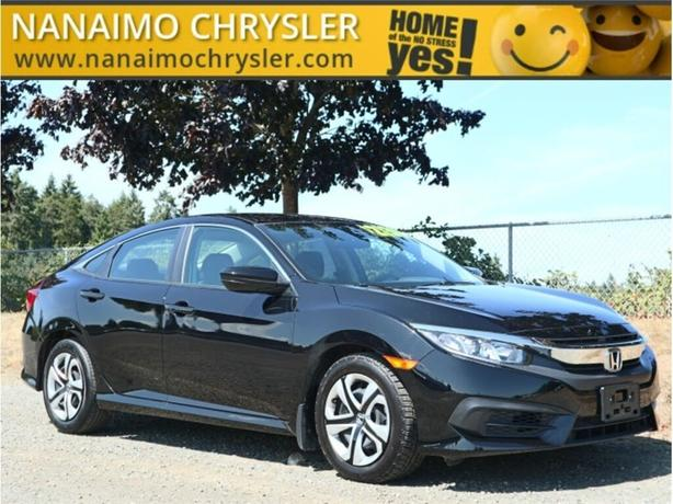 2018 Honda Civic LX One Owner No Accidents