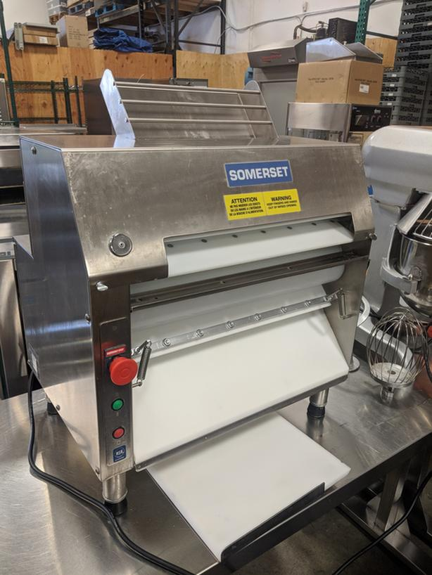 """Somerset Countertop 20"""" Two Stage Dough Roller Sheeter"""