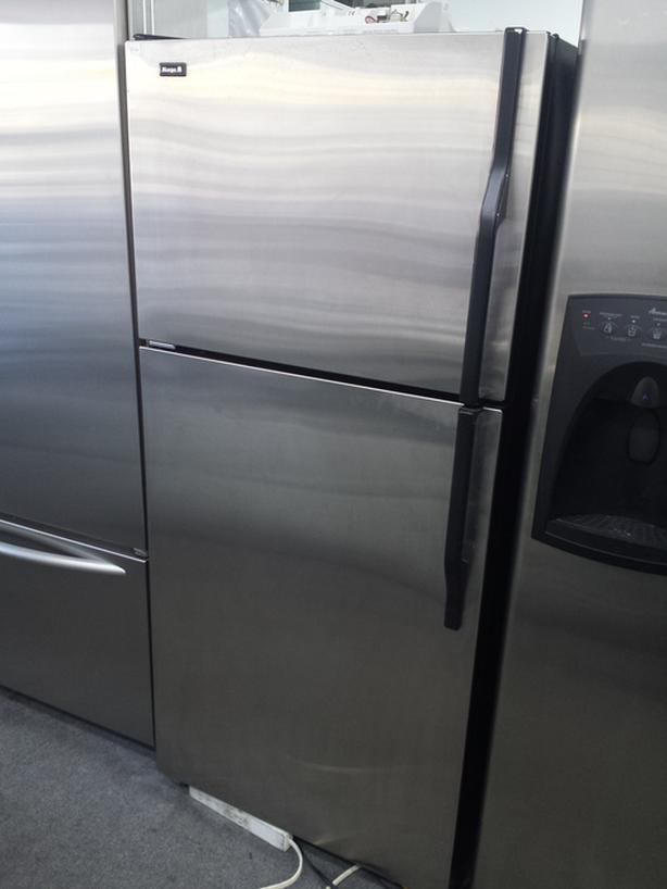 STAINLESS STEEL FRIDGE WITH WARRANTY