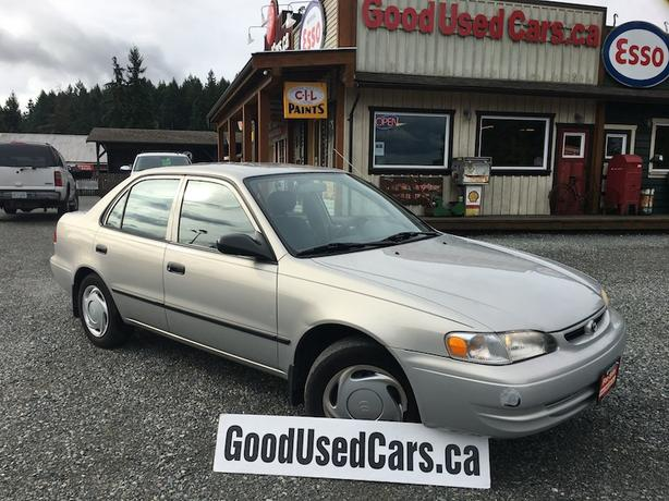 2000 Toyota Corolla - Automatic with Only 104,000 KM!