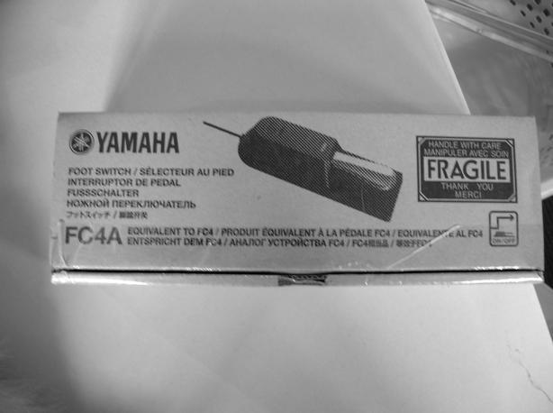 New Yamaha FC4A foot pedal.