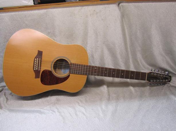 #166325-17 Seagull Coastline S12 Cedar acoustic 12 string
