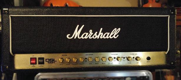 Marshall DSL100H Tube head