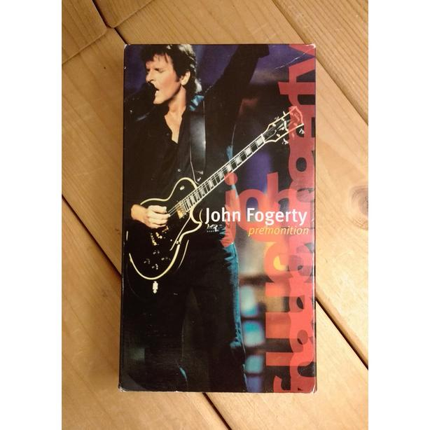 "JOHN FOGERTY ""PREMONITION"" CONCERT VHS TAPE"
