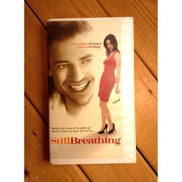 """""""Still Breathing"""" VHS movie (1997) – Brendan Fraser & Joanna Going"""