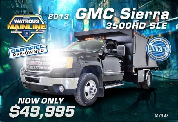 2013 GMC Sierra 3500HD Dump Truck SLE