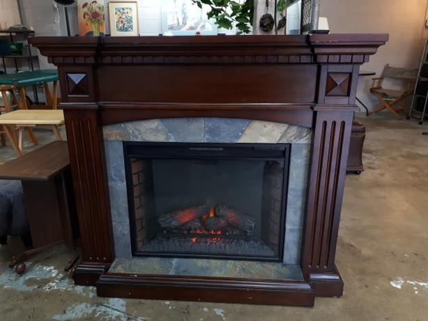 Electric Fireplace!