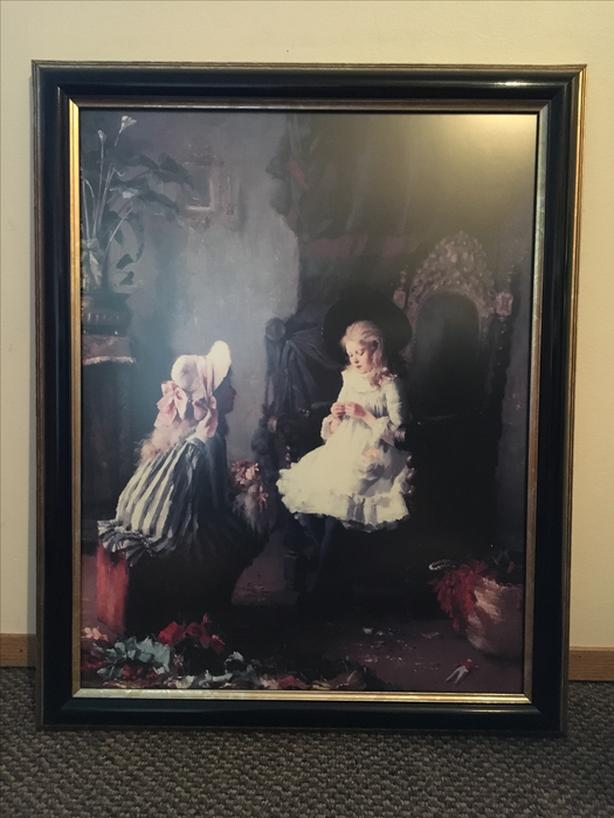 WALL PAINTING WITH FRAME
