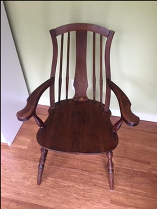 Antique Walnut Windsor Chair