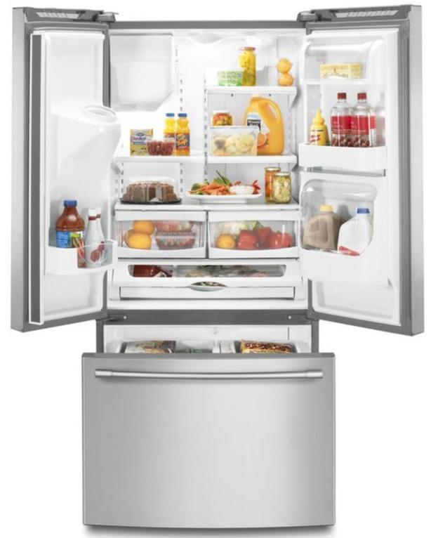 Maytag Fingerprint Resistant Bottom-Freezer Refrigerator