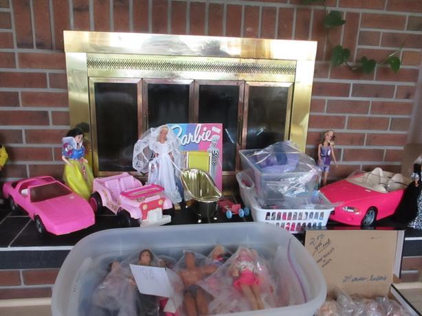 Barbie collection - 50 dolls plus cars, accessories, barbie babies