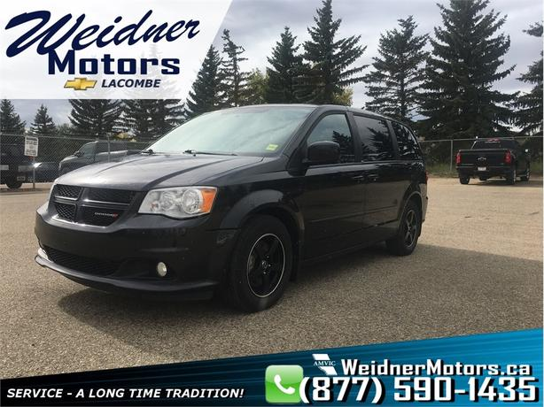 2013 Dodge Grand Caravan * Heated Leather Front & Rear Seats *