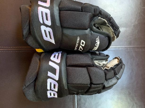 Kids - Bauer Supreme 170 Hockey Gloves