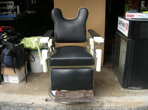 Koken Antique Collectible Barber Chair