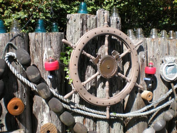 Ship wheel ( large )