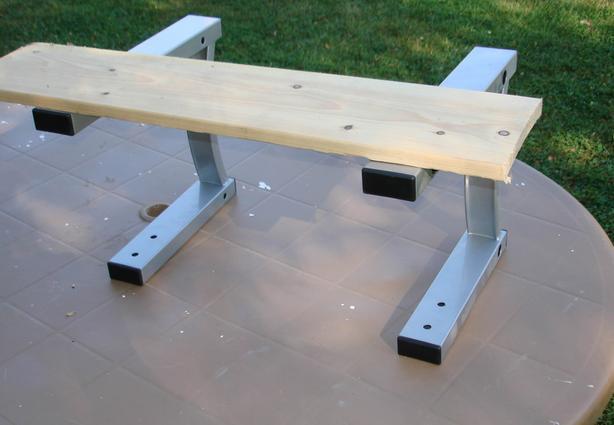 Steel shelf brackets for workbench, computer desk, ???