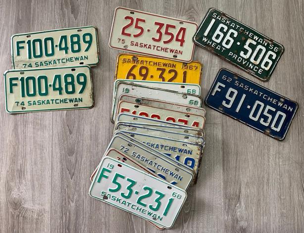 SK License Plates
