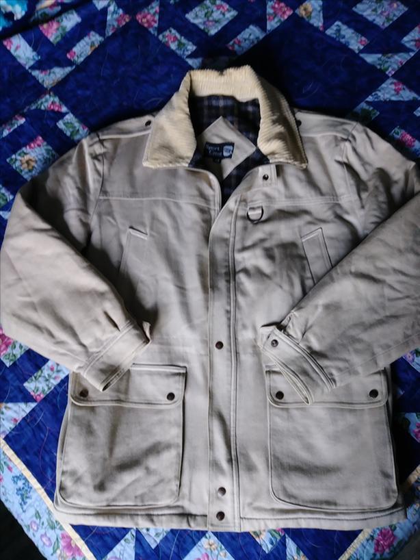 Men's lined coat