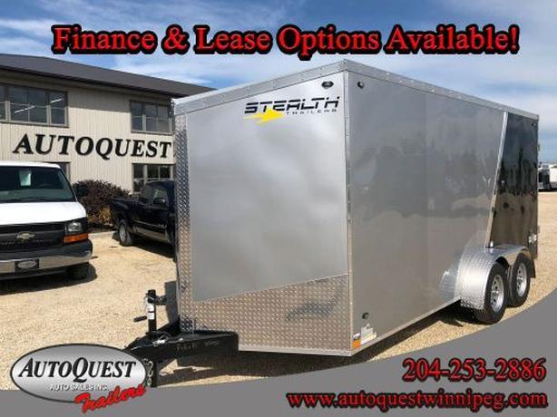 "2020 Stealth 7' x 16' x 78"" V-Nose Cargo Trailer - 7 000 lbs"