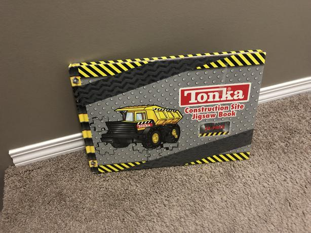 Tonka Book with Puzzles
