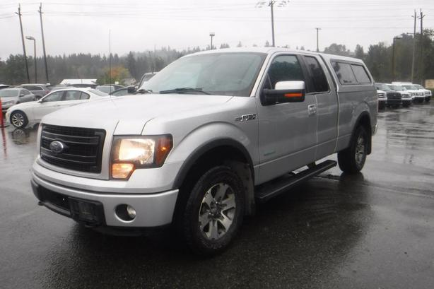 2014 Ford F-150 FX4 SuperCab 6.5-ft. Bed 4WD EcoBoost with Canopy and Power Inve