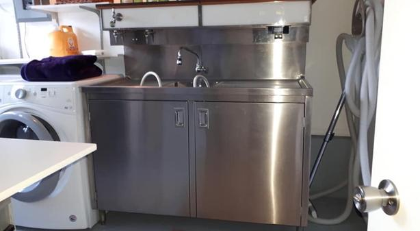 Wine making fridge/sink and accessories