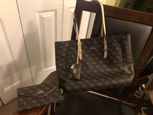 Guess Tote with Matching Wallet