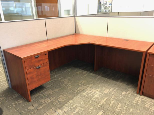 3 desks available for a small charitable donation.