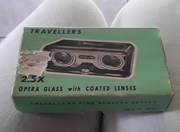 Vintage opera glasses 2.5X