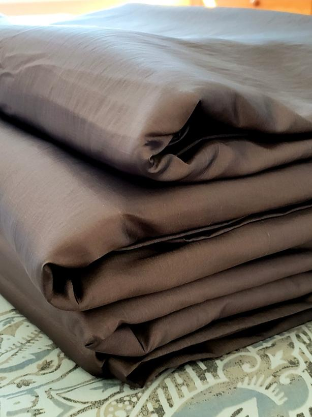 Like New, Lined Faux Silk Drapes