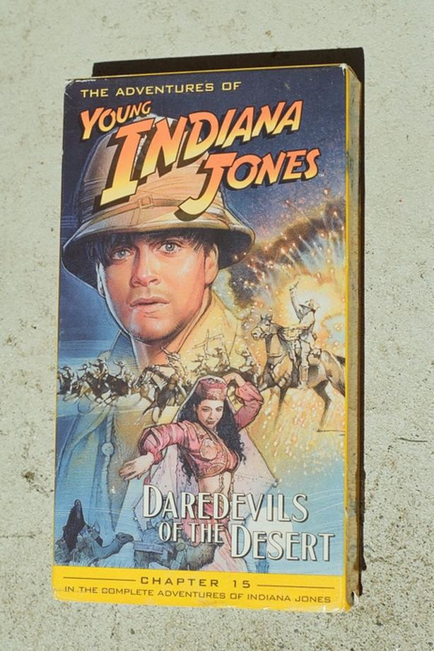 VHS-YOUNG INDIANA JONES-Chapter 15, Daredevils of the Desert