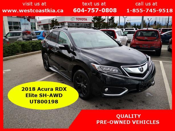 2018 Acura RDX Elite Premium AWD