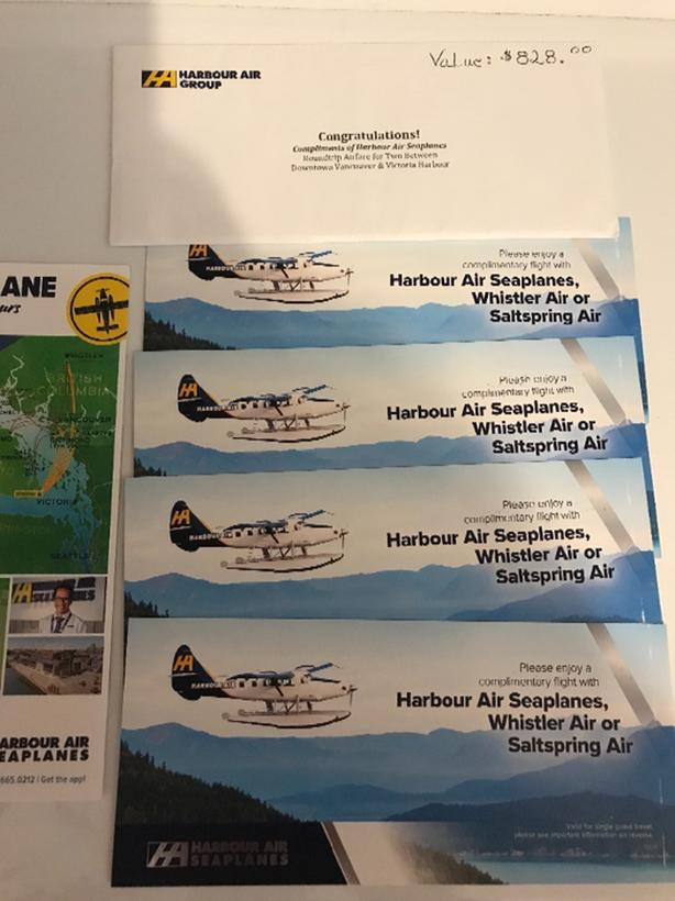 HARBOUR AIR TICKETS
