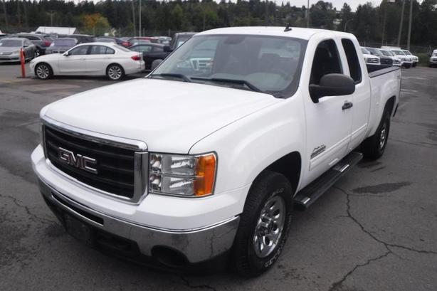 2010 GMC Sierra 1500 Nevada Edition Extended Cab 6.5 Foot Box 4WD