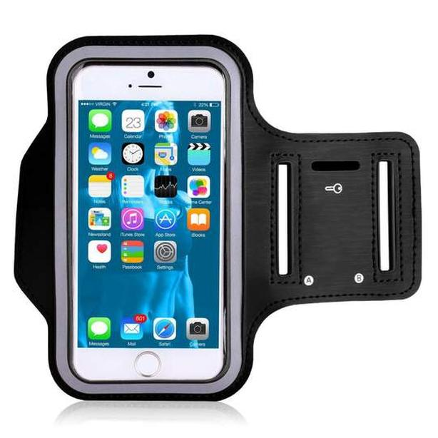 Water Resistant Armband for Mobile Cell Phone - Black