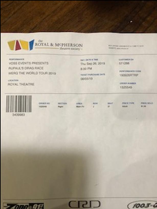 Rupaul's Drag Race Worq The World Tour 2019 ticket