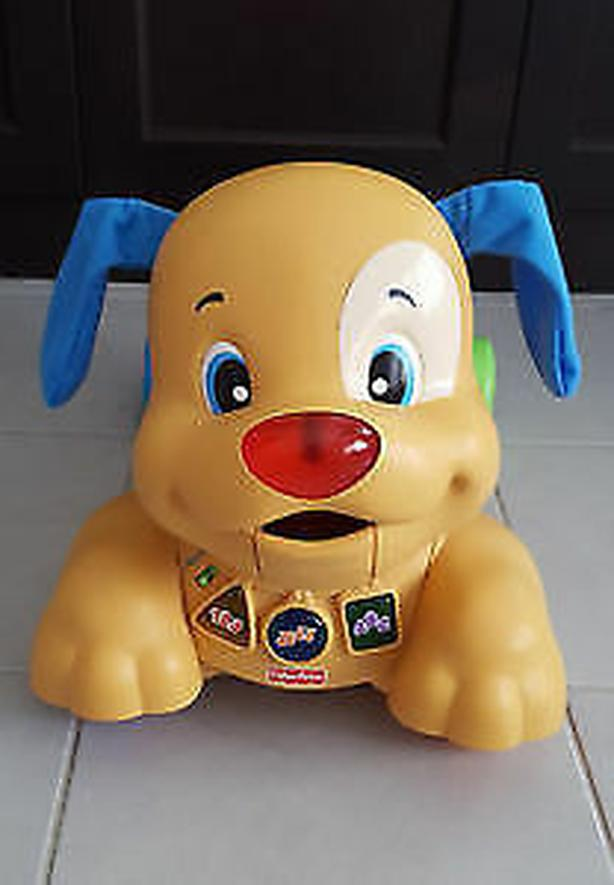 Fisher-Price Laugh & Learn Stride to Ride Puppy Dog Ride