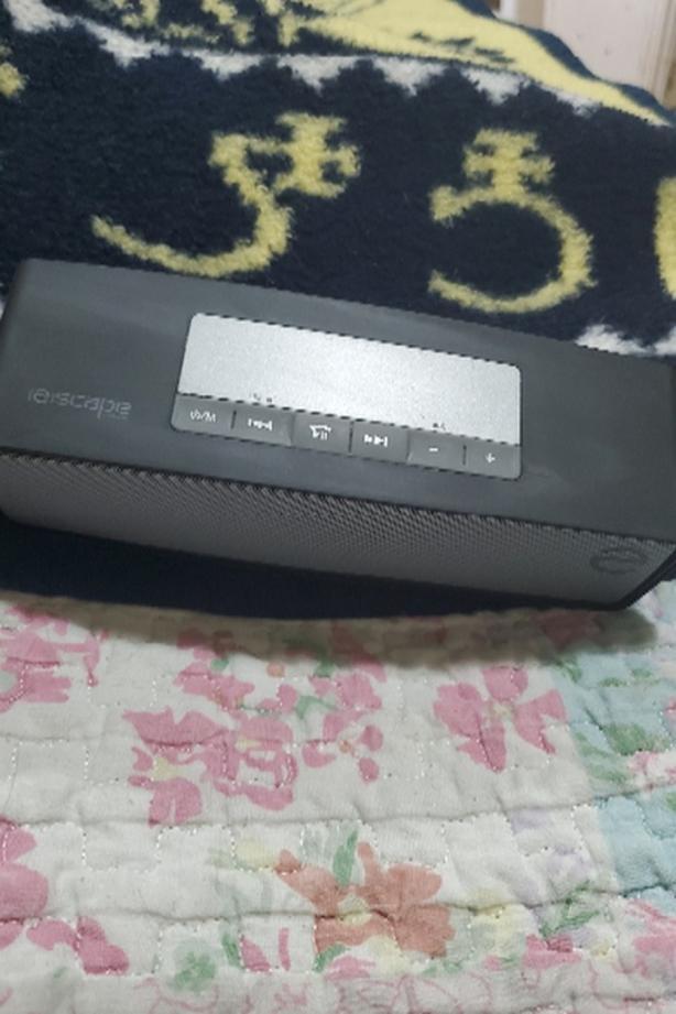 escape platinum bluetooth speaker