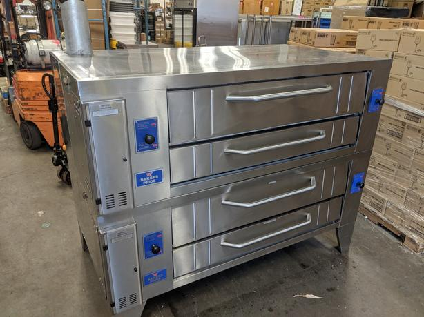 Like-New Bakers Pride Y-600 Super Deck Pizza Ovens!