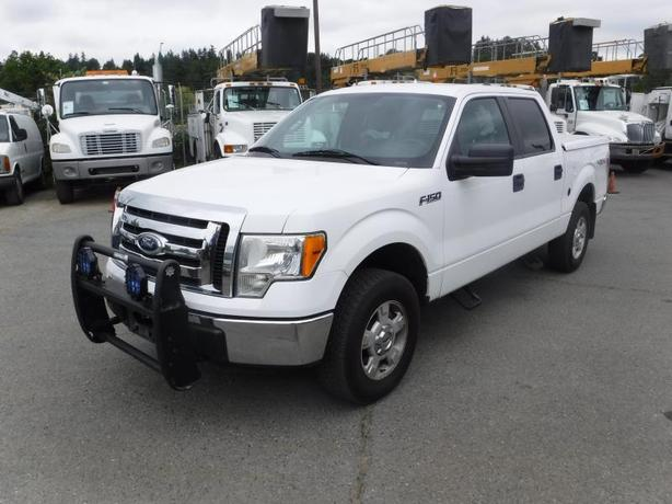 2011 Ford F-150 XLT SuperCrew Short Box 4WD with Dual Fuel (Propane and Gas)