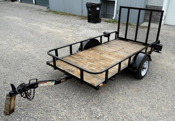 BIG TEX 4 X 8 UTILITY / CARGO TRAILER