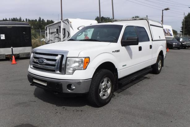 2012 Ford F-150 XLT SuperCrew 6.5-ft. Bed 4WD with Canopy