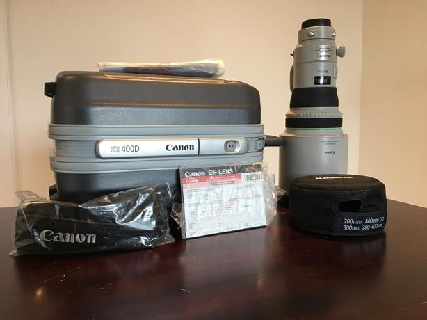 Canon 400mm f/4 DO II IS USM Lens