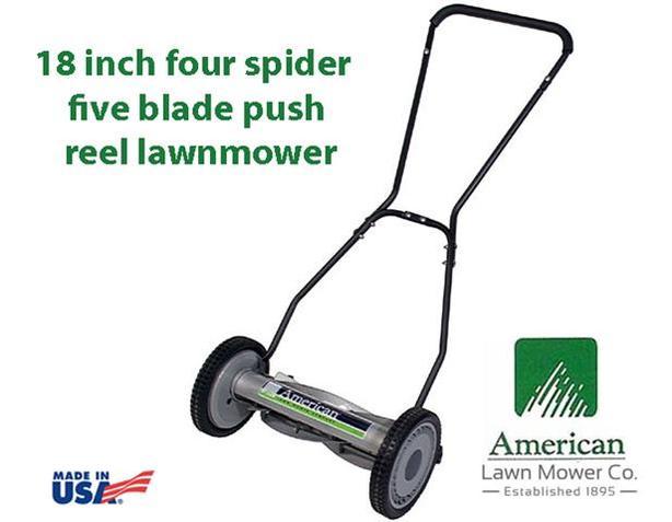 18-inch Reel Lawnmower