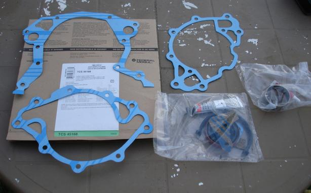 Timing chain cover gasket kit 302 289 351 small block Ford Windsor Fel-Pro, NIB
