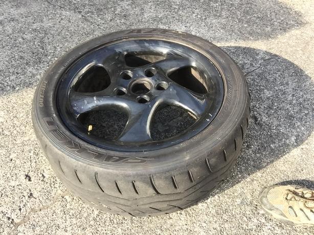 18 inch Porsche Turbo Twist wheels
